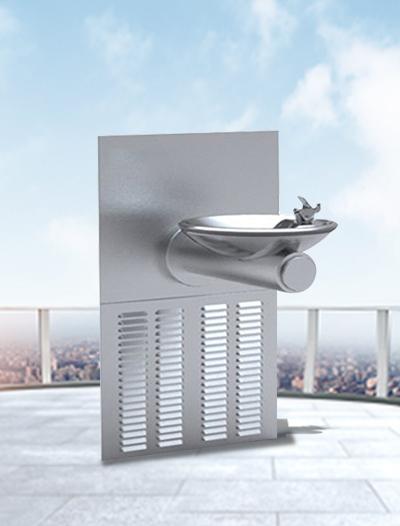 壁挂式单盆直饮水台