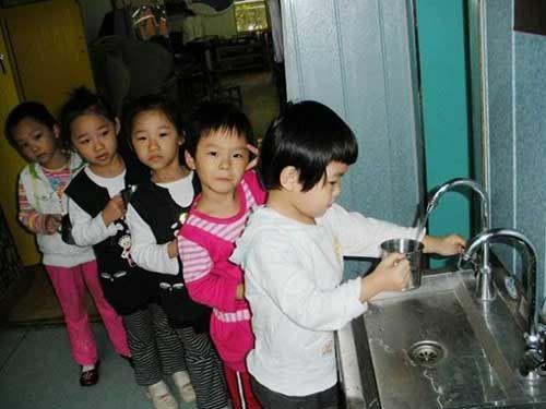 滤中滤幼儿园饮水案例——天津伟才幼儿园